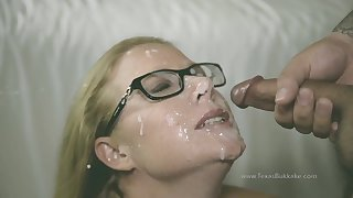 Hot MILF Becca Crafty Gangbang and Bukkake
