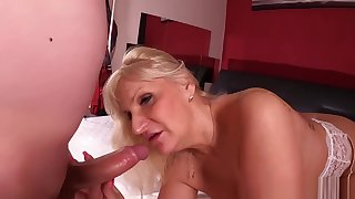 Anna Valentine horny blonde hungarian grown-up and a young guy