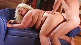 Fat mature daughter plant the big dick near a arbitrary doggy style