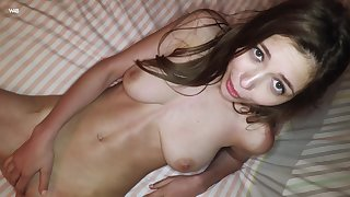 Close up home video. Girlfriend Milla plays with say no to wet cunt
