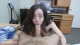 Dirty babe, Whitney Wright with an increment of her horny boss are having a great fuck, while in a hotel room
