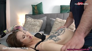 MyDirtyHobby - Gorgeous babe Hanna Suffocating made him cum twice in her indiscretion