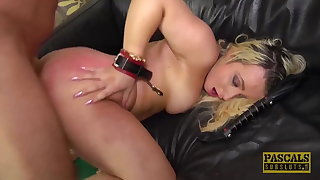 PASCALSSUBSLUTS - Sub Candice Banks gagged and fucked hard