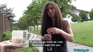 This amateur is a true fuck chick and she loves money as generously