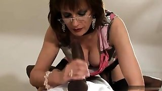 Full-grown and busty amateur wife blowjob and anal creampie