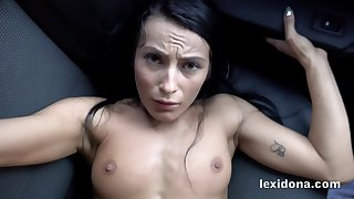 This bitch lexy dona avow enjoyment from me on your car