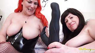 OldNannY One British Mature Lesbians Gather up