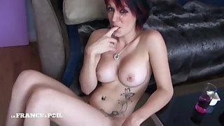 Big-Titted Babe Kenza Gets Pounded