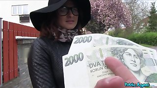 Czech beauty accepts cash for a good fuck beyond everything cam